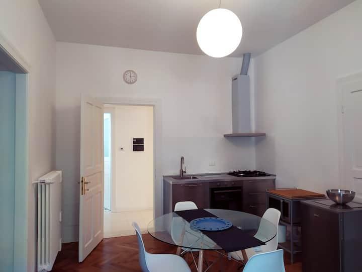 Ampio appartamento a Palazzo Vidmar, in centro