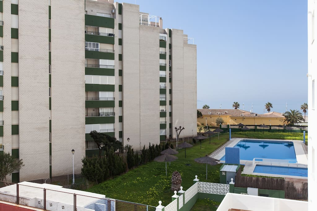680 bonito apartamento con piscina flats for rent in el for Piscina el puerto de santa maria