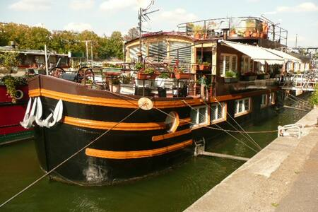 STAY ON A BARGE IN PARIS CENTER - París - Pis
