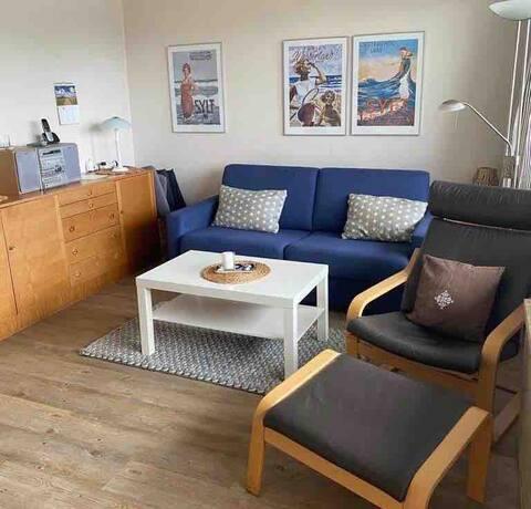 Appartement 2 Minuten zum Strand von Westerland