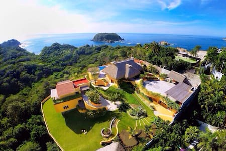 Luxury Beach House for Rent  - Huatulco