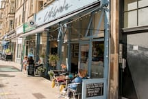 More Cafe's in Bruntsfield