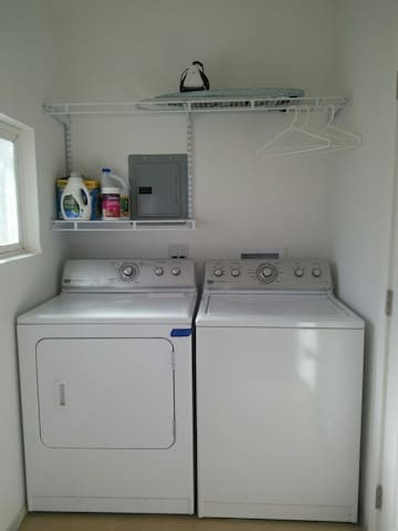 commercial sized washer/dryer
