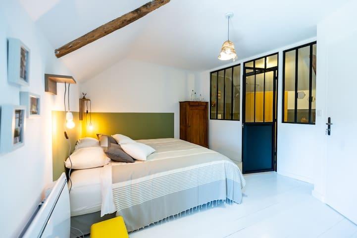 """"""" Au bout de la route""""  chambre  Golfe du Morbihan"""