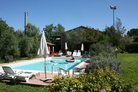 Country house pool Maremma Tuscany - Marrucheti - Huoneisto