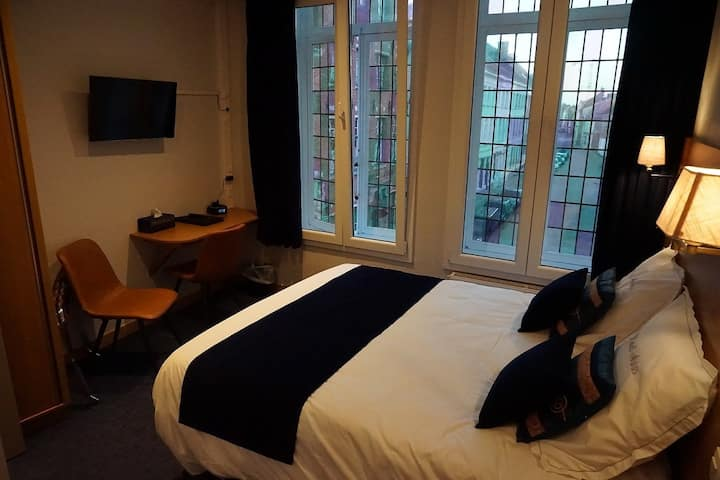 Standard double rooms, 2 located on the first floor and 2 on the second floor - no elevator.