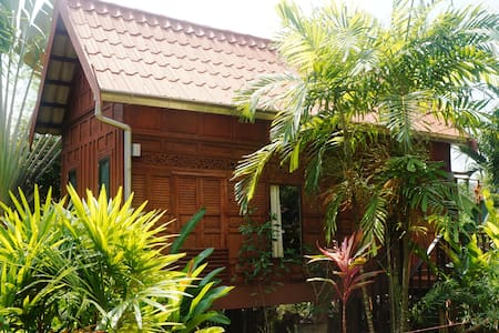 Little Tropical Thai-style house
