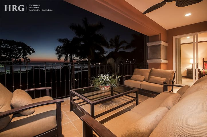 Amazing Sunset and Oceanfront Condo.