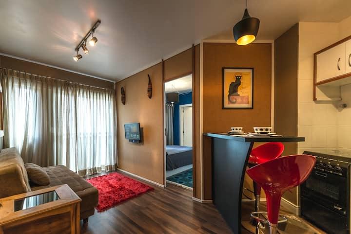 Cozy flat, best location downtown