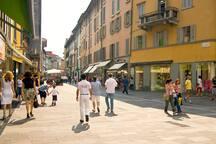 Centro di Bergamo -Via XX Settembre Citta' Bassa