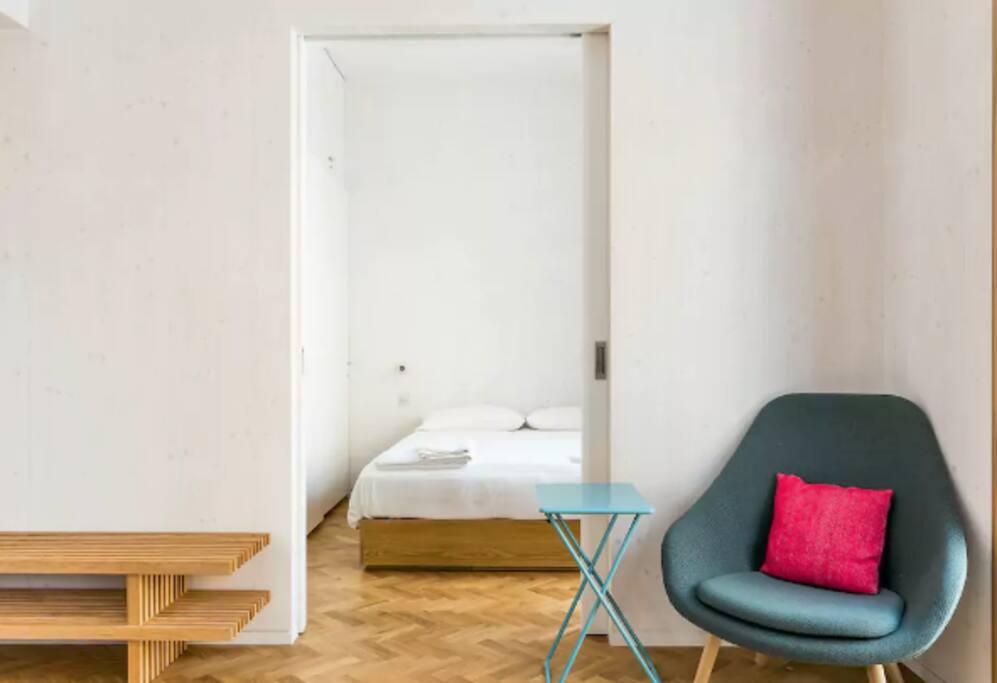 Spacious, modern open plan living area