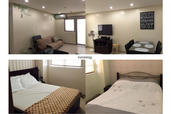 2BR Cozy Spacious Condo w/ Parking - Cebu  - Daire