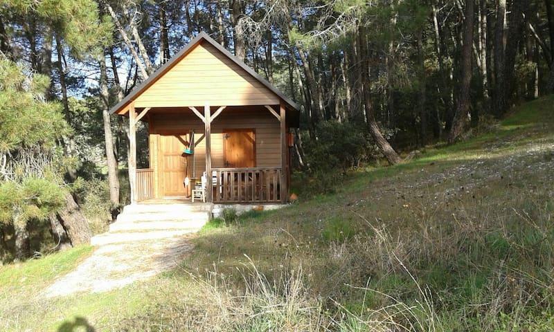 Cabaña madera D fines de semana