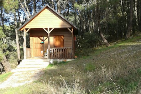 Cabaña madera D fines de semana - Cenicientos - Srub