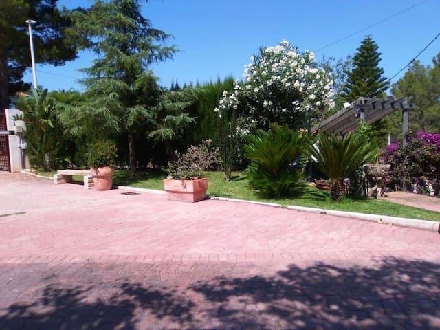 Apartamento con piscina y jardín - Marxuquera, Gandia - Appartement