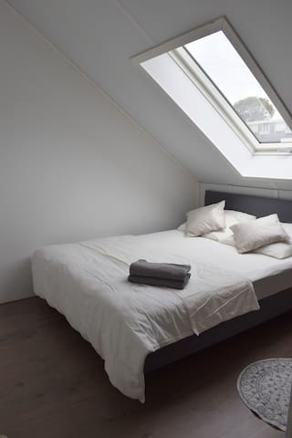 Bright Attic Room in Haarlem