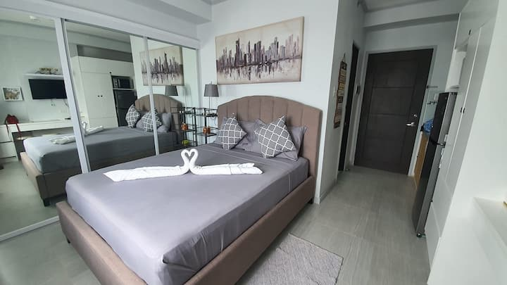 Fully Furnished Studio Unit with a Sea View