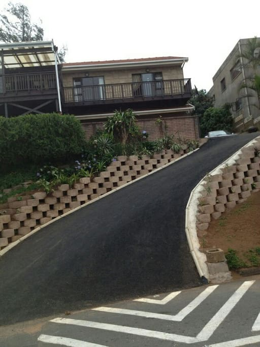 A driveway to safe parking