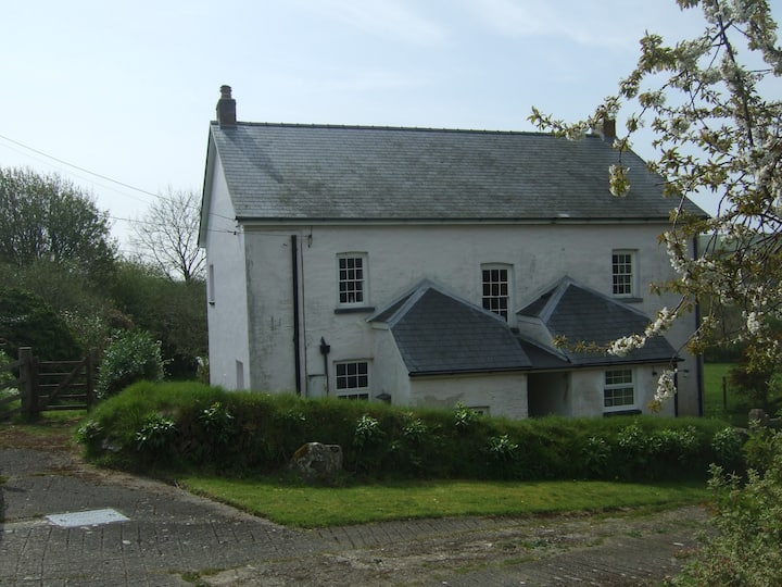 Trecregyn North Farm,  Llangrannog    + breakfast