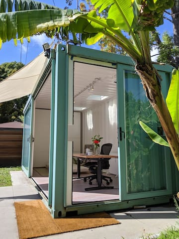 Private Shipping Container in Venice Jungle
