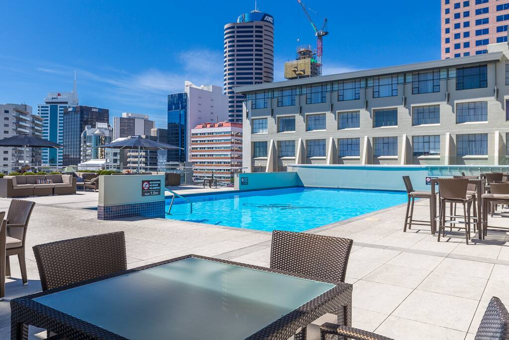 There is no better hotel pool in Auckland! Take a rest from the rigours of sightseeing and go for a dip!