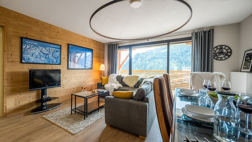 Newbuilt property for 6 people - ski-in / ski-out