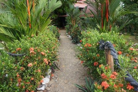 Garden Hut with A/C Azuero Pen PA - Llano de Mariato - Almhütte