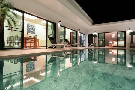 3BR Pool Villa 5min to Layan beach - タラーン