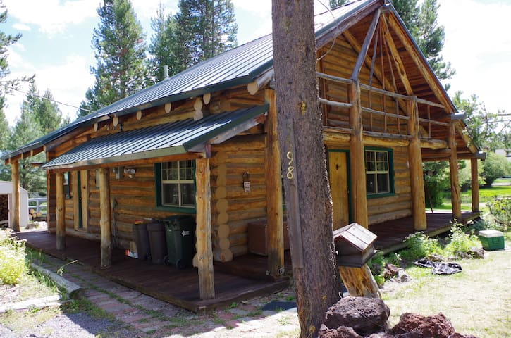 Summer is coming! And it's better in a log cabin!
