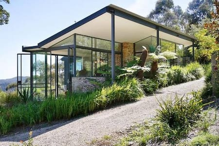 Australian bush paradise getaway - Mount Tomah - Blockhütte