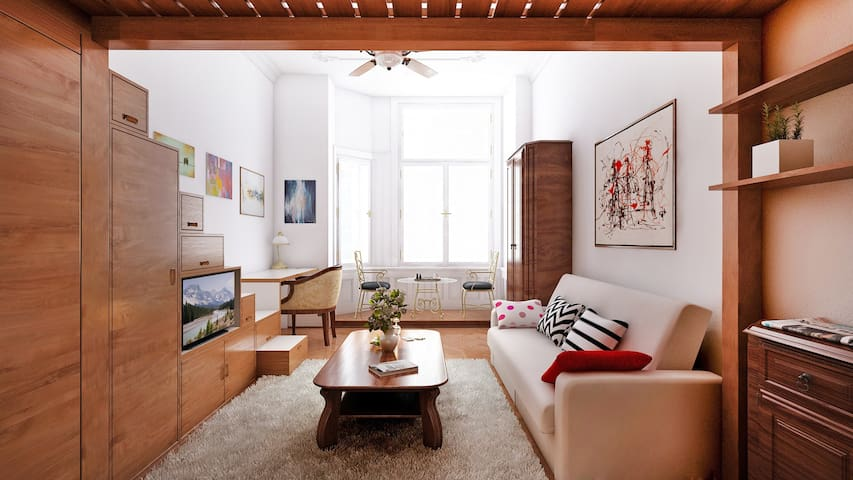 Cozy Apartment in pure Old Town City Center - TOP! - Prague - Appartement