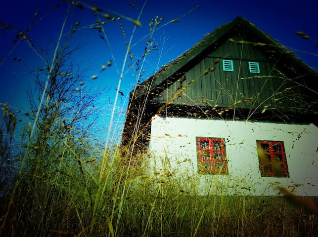 romantic chalet in the countryside - Križevci - กระท่อมบนภูเขา