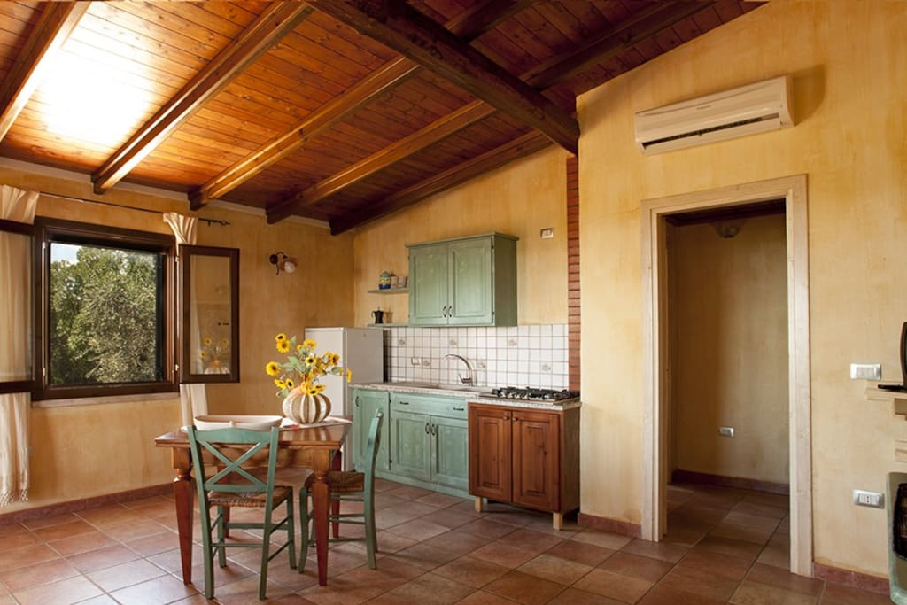 soggiorno-cucina bilocale