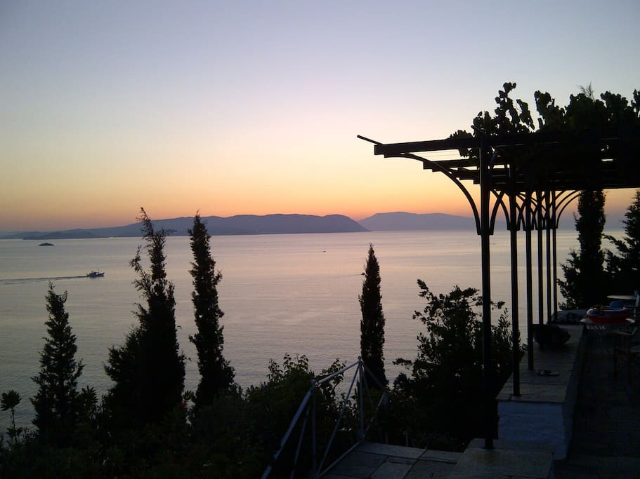 Sunset in Skiathos