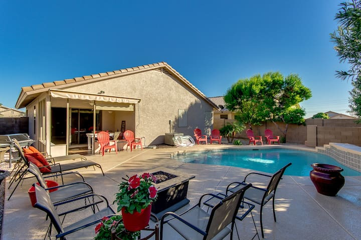 Private Heated Swimming Pool in Apache Junction - Apache Junction - House