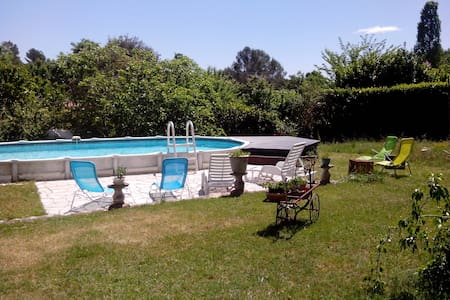 Charming apartment with swimming pool - Montauroux