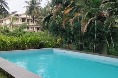1BHK AC Apartment With SwimmingPool near the beach
