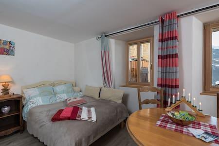 appartement individuel dans chalet - Bourg-Saint-Maurice - Huis