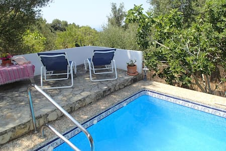 Charming cottage with pool & view - Galilea