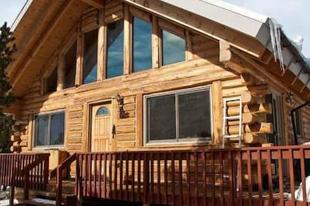 """Beauty In The Pines"" , LOG CABIN/HOME - Crestone"