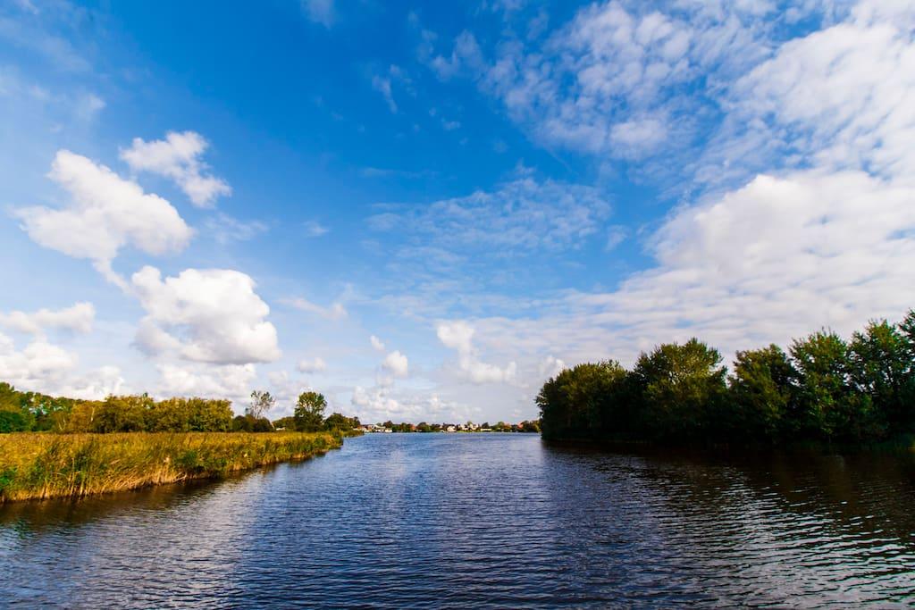 Prachtig polderlandschap