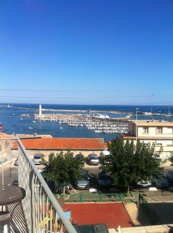 Sète, vue mer, charme - Sète - Apartamento