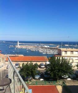 Sète, vue mer, charme - Sète - Apartemen