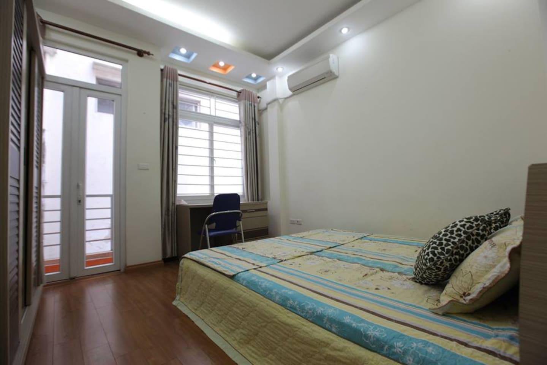 Long term rental room center Hanoi