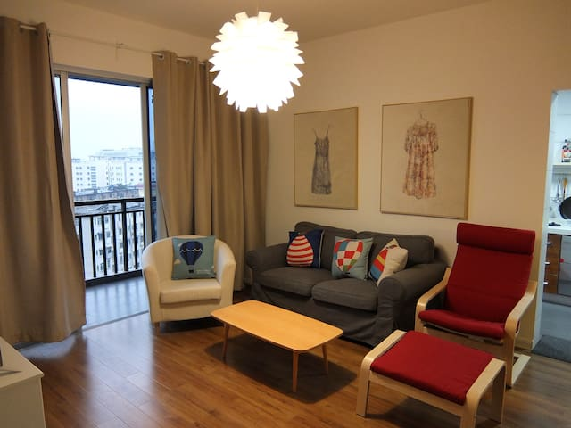 Cosy,sunny 2 room apartment阳光小两居 - Nanning - Leilighet