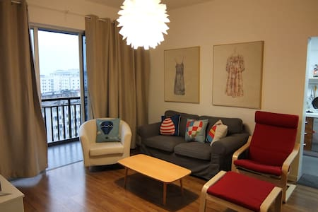 Cosy,sunny 2 room apartment阳光小两居 - Nanning - Flat