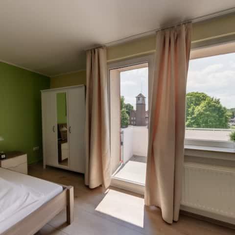 Toll ausgestattete 40m²-Eco-Wohnung