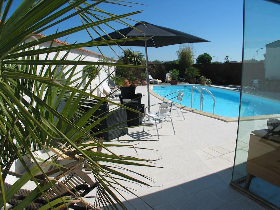 piscine lieu de détente