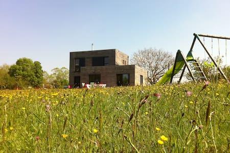 Jolie maison en bois contemporaine - Casa