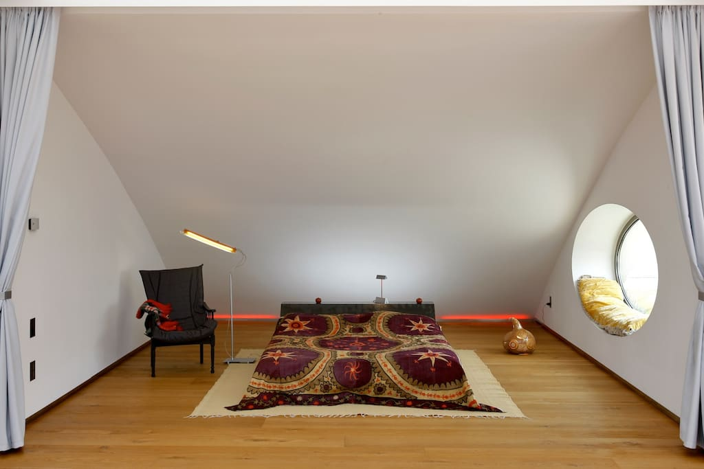 Night area with double bed